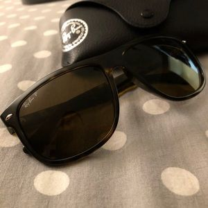 Ray-Ban Accessories - Ray Ban Tortoise Brown Polarized Sunnies